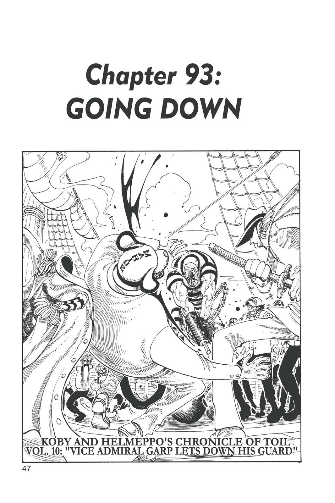 One Piece, Chapter 93 image 001