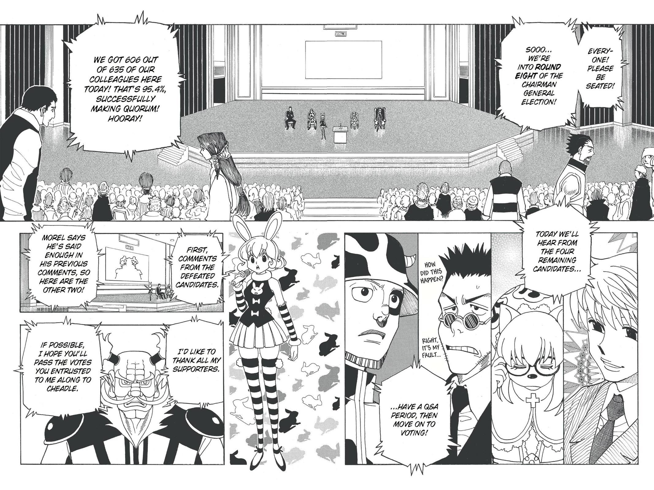 Hunter X Hunter, Chapter 331 image 017