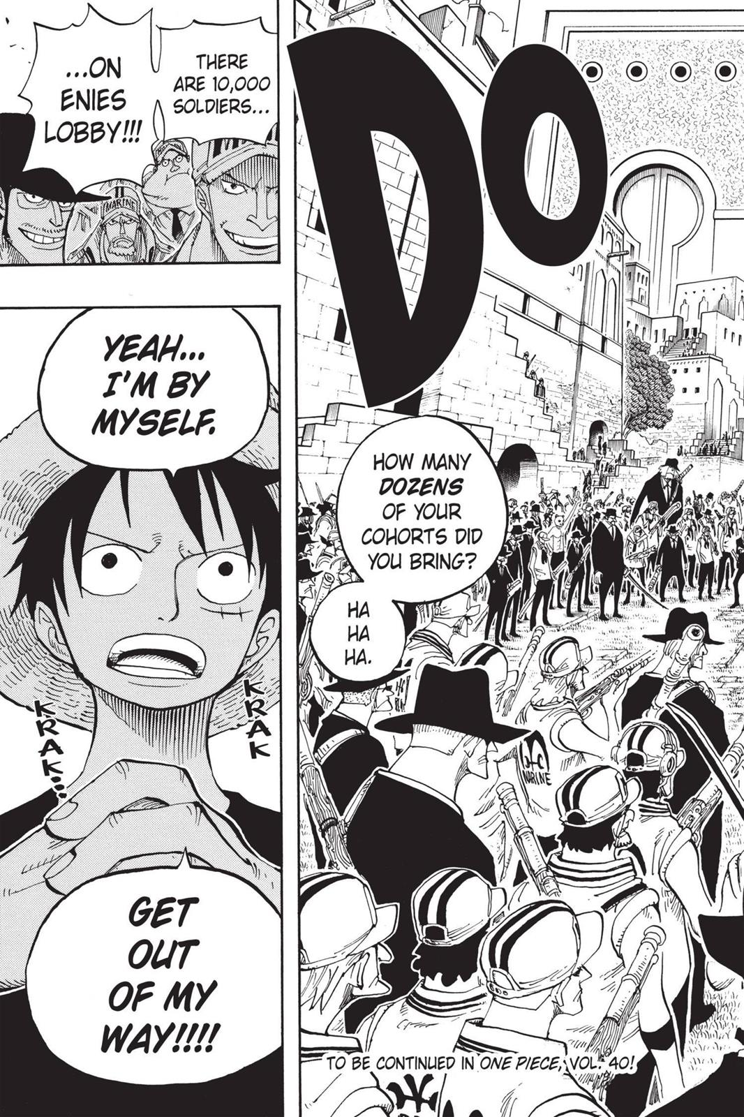 One Piece, Chapter 377 image 020