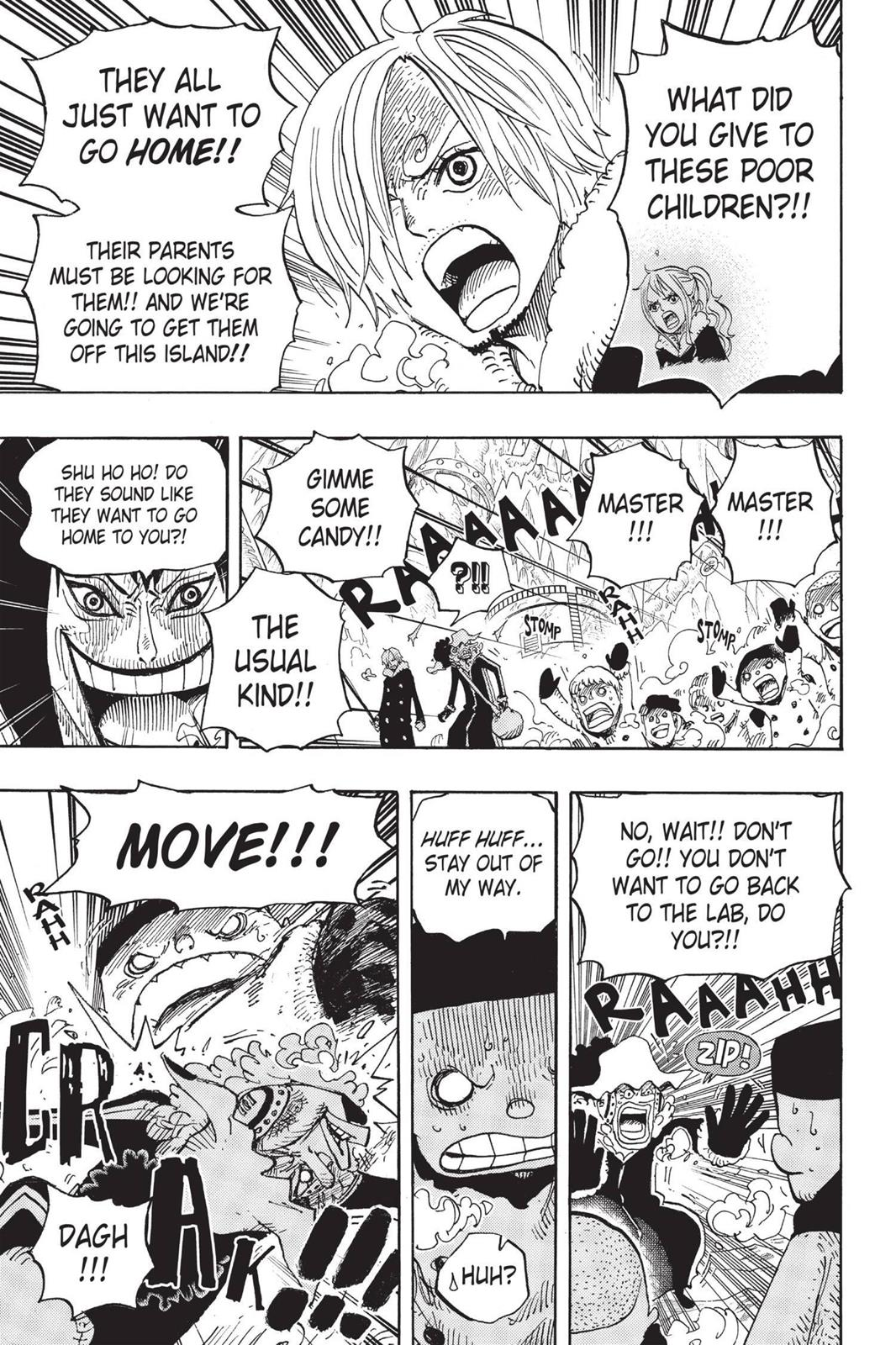 One Piece, Chapter 674 image 003