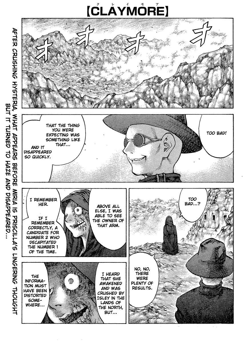 Claymore, Chapter 126 image 001