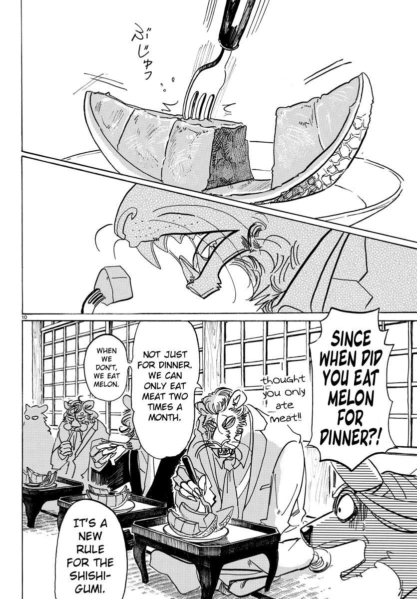 Beastars Manga, Chapter 131 image 010