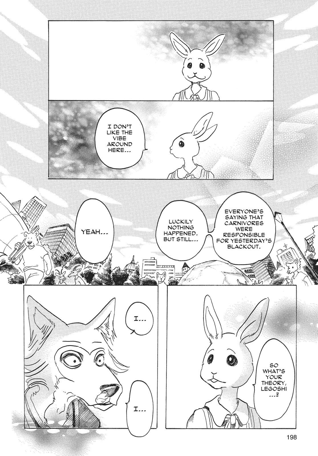 Beastars Manga, Chapter 34 image 013
