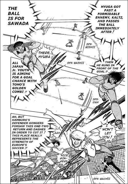 Captain Tsubasa, Chapter 87 image 007