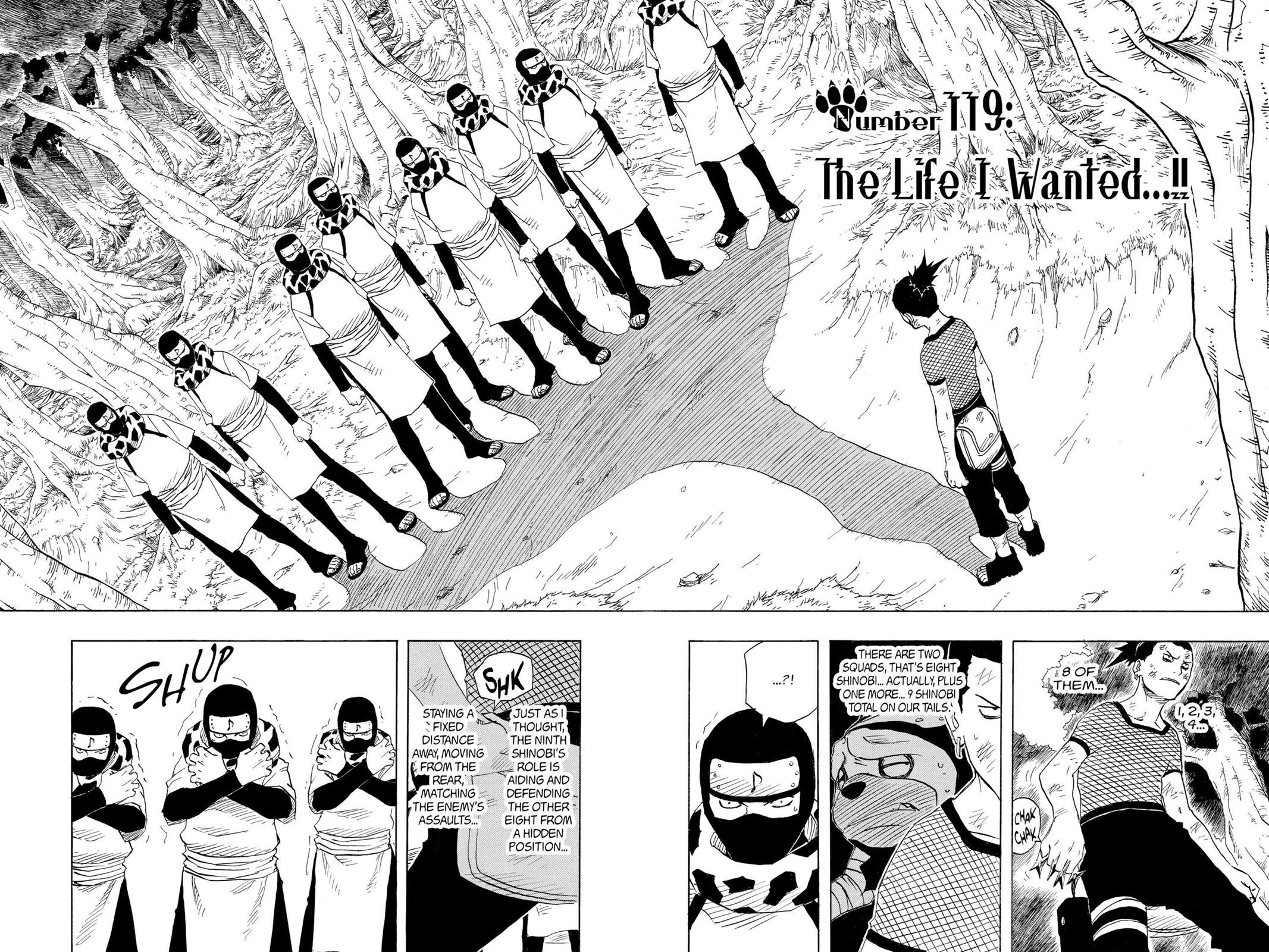 Naruto, Chapter 119 image 002