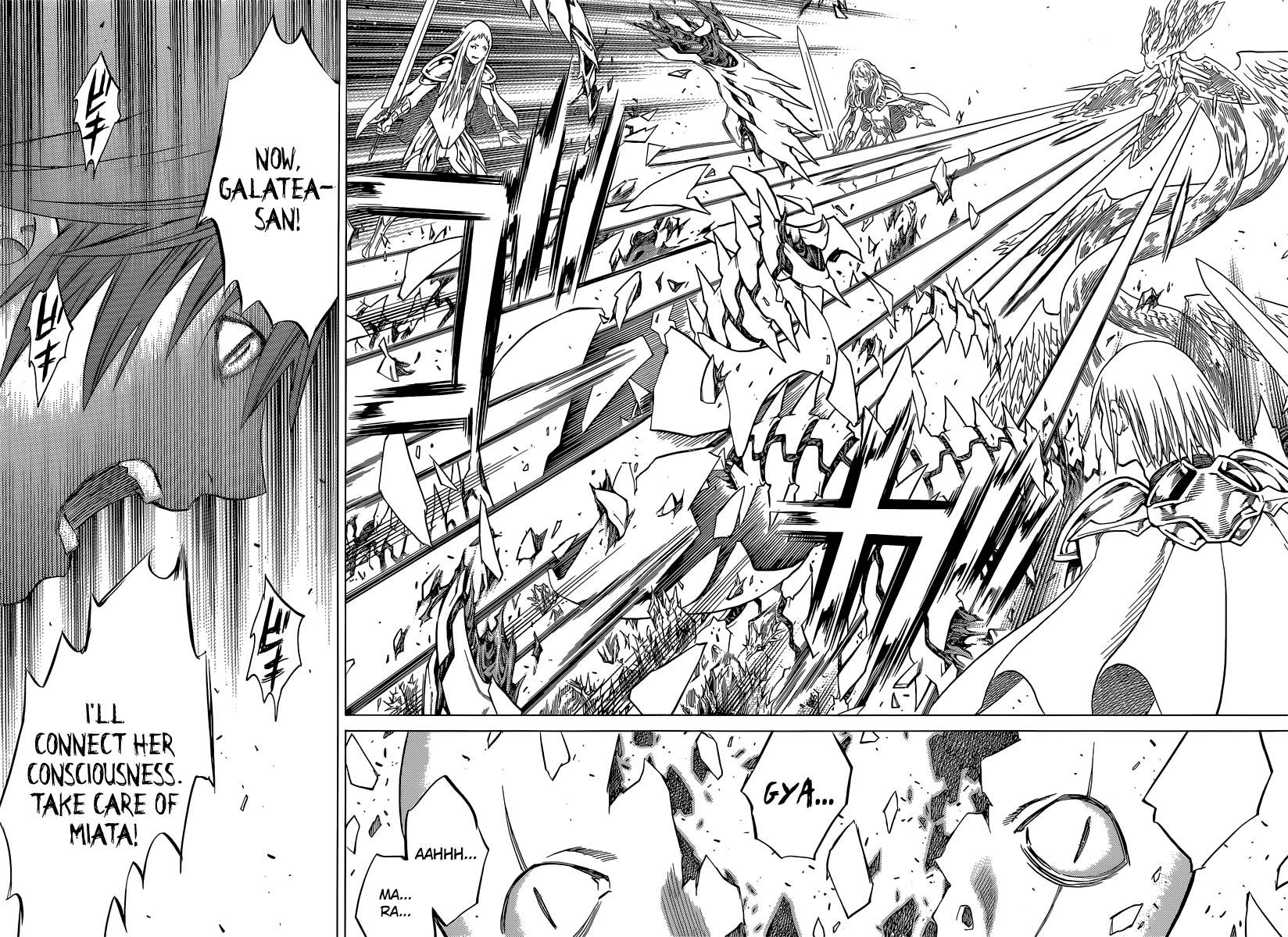Claymore, Chapter 142 image 022