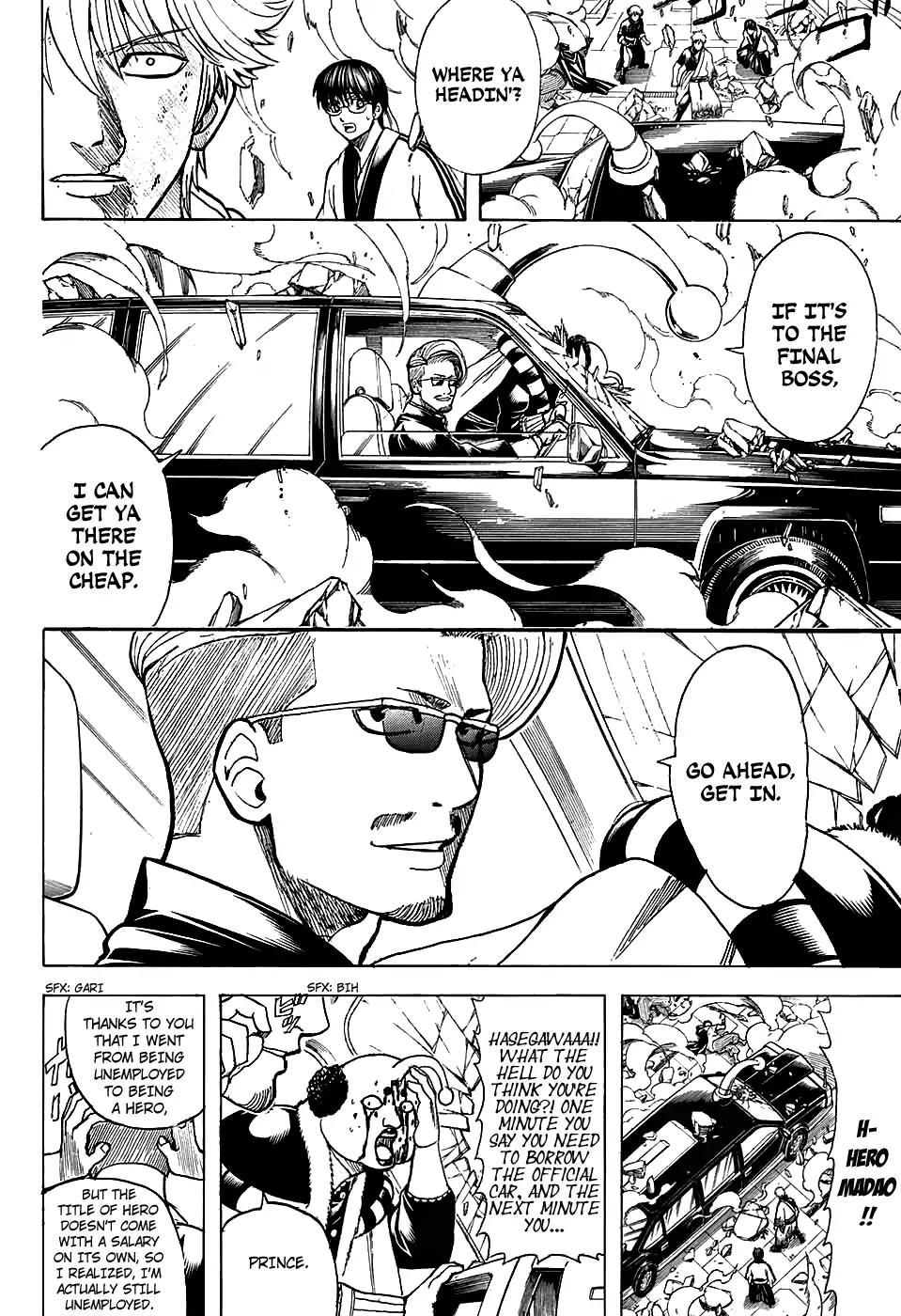 Gintama Chapter, 701 image 032