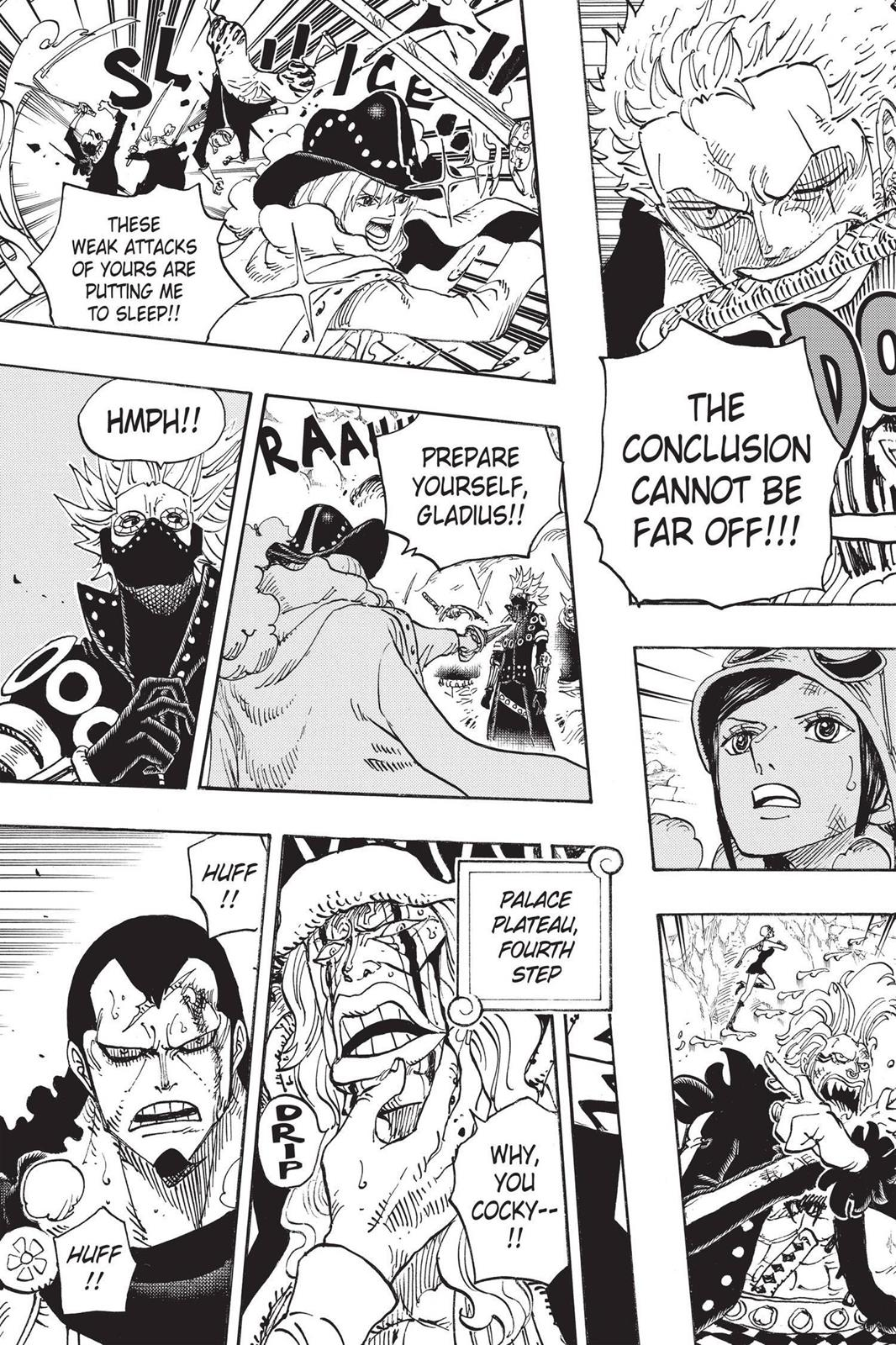 One Piece, Chapter 768 image 011