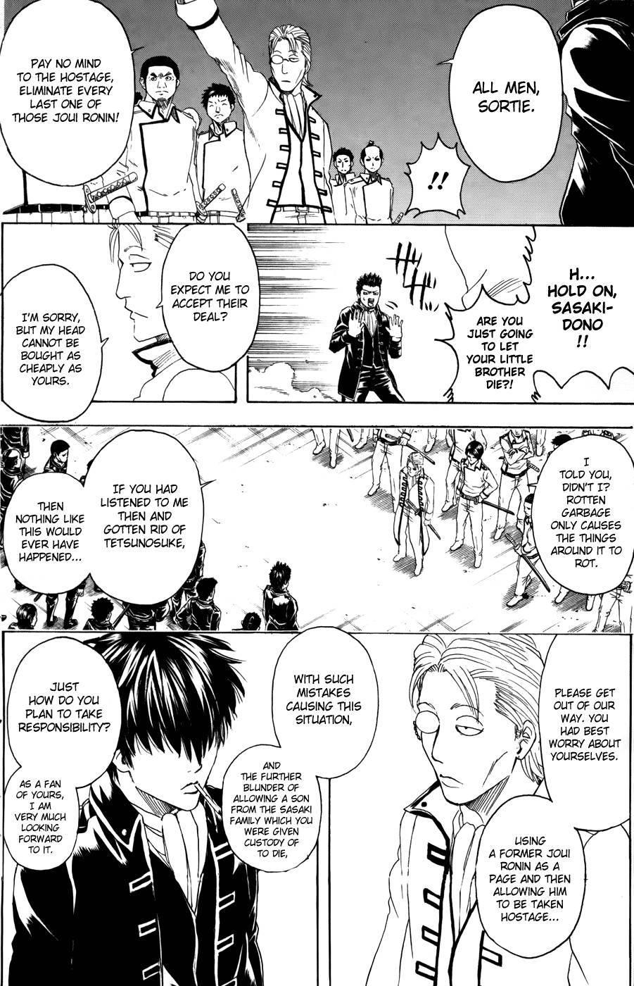 Gintama Chapter, 367 image 012