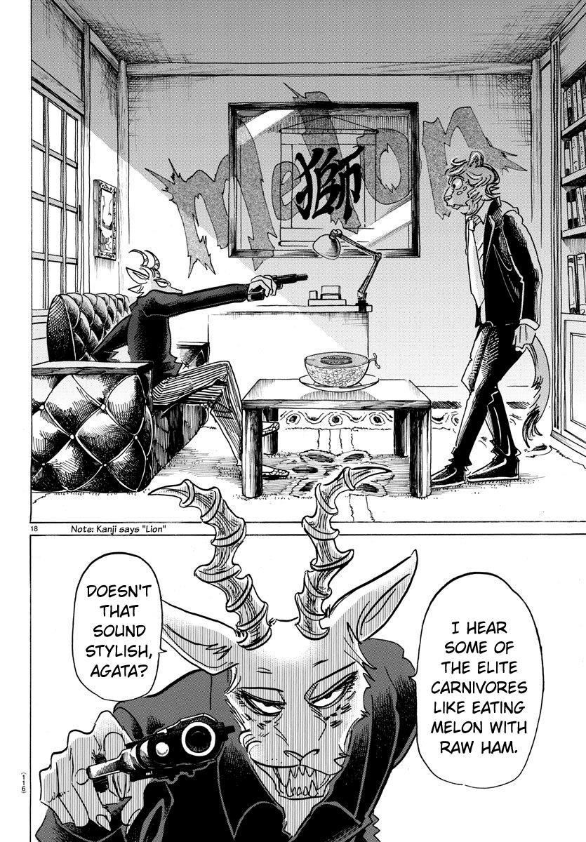 Beastars Manga, Chapter 149 image 017