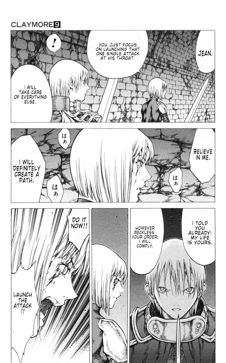 Claymore, Chapter 48 image 013