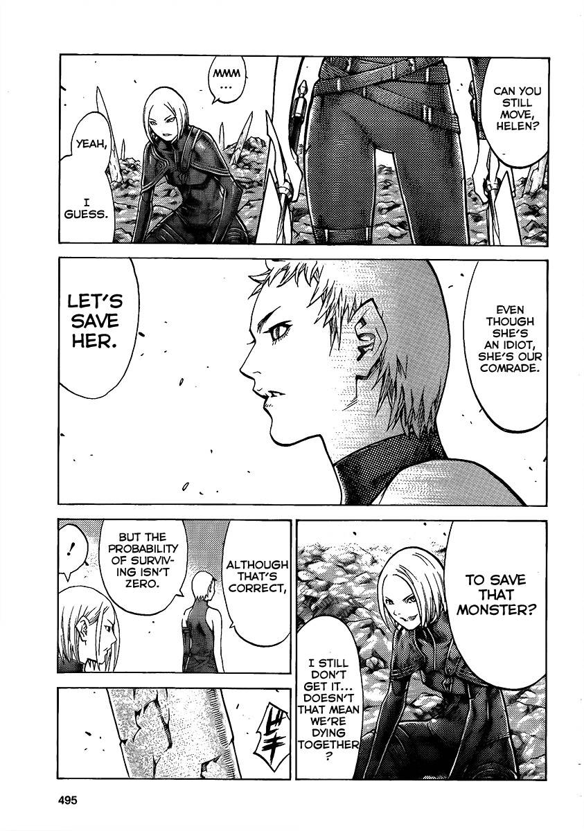 Claymore, Chapter 101 image 014