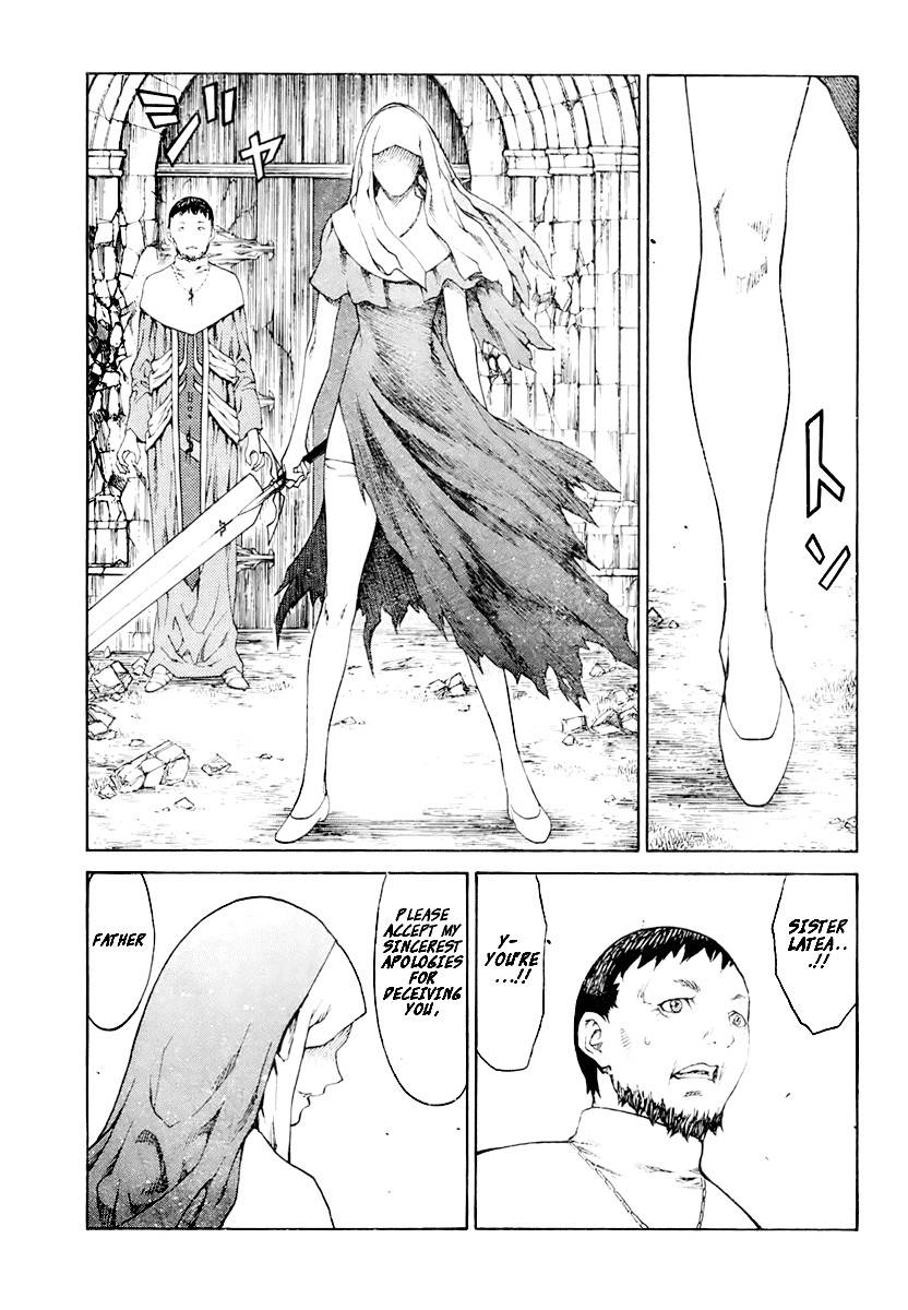 Claymore, Chapter 74 image 025