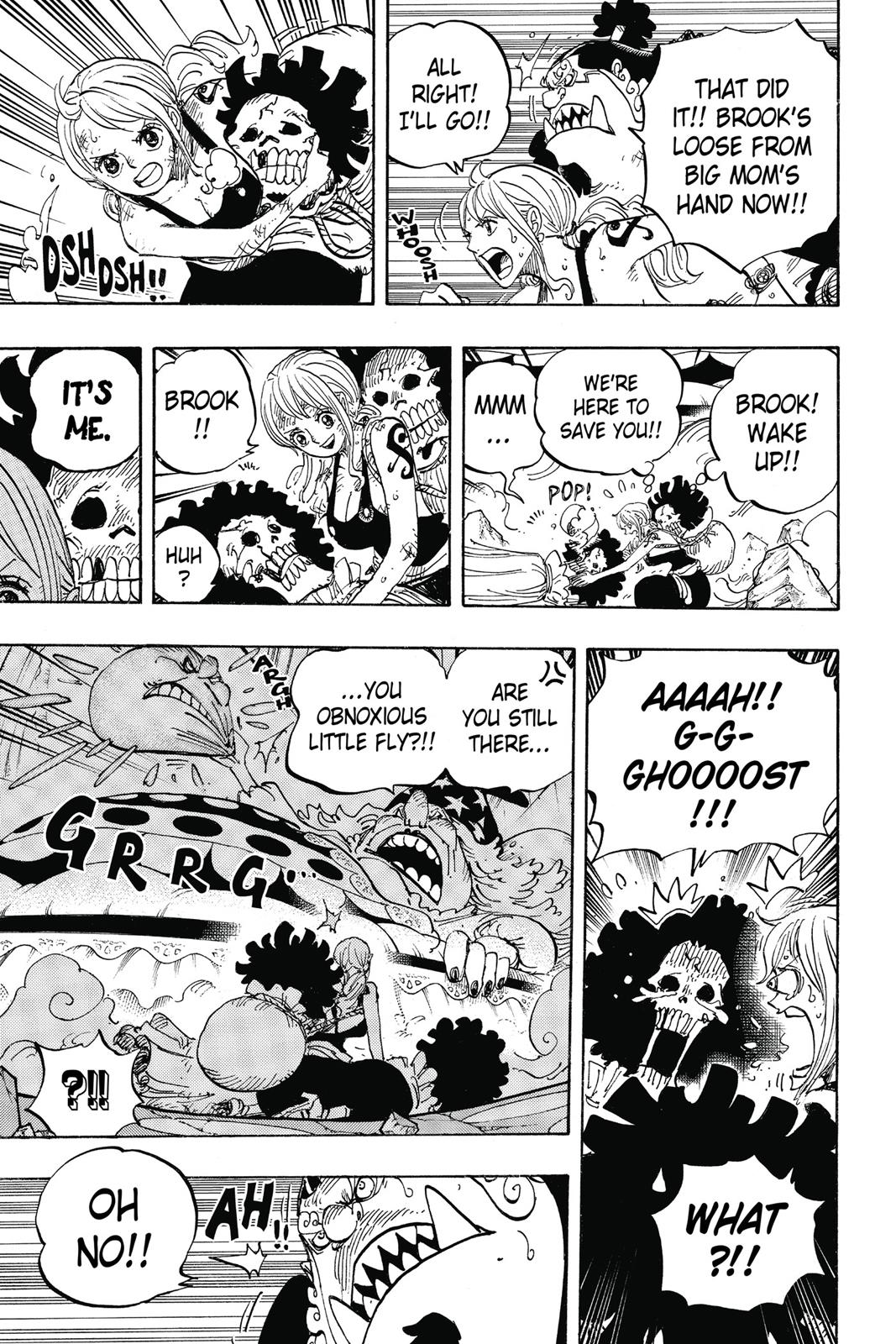 One Piece, Chapter 855 image 010