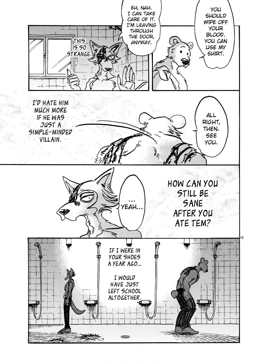 Beastars Manga, Chapter 85 image 013