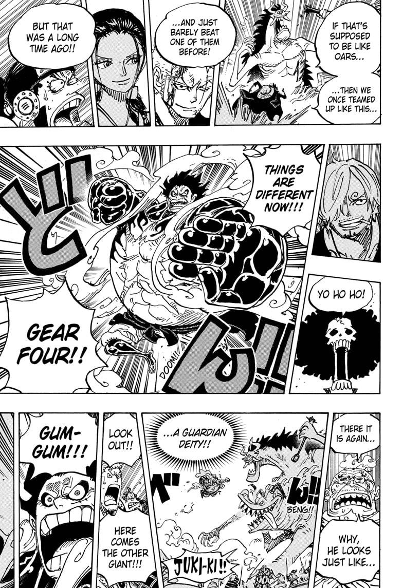 One Piece, Chapter 990 image 013