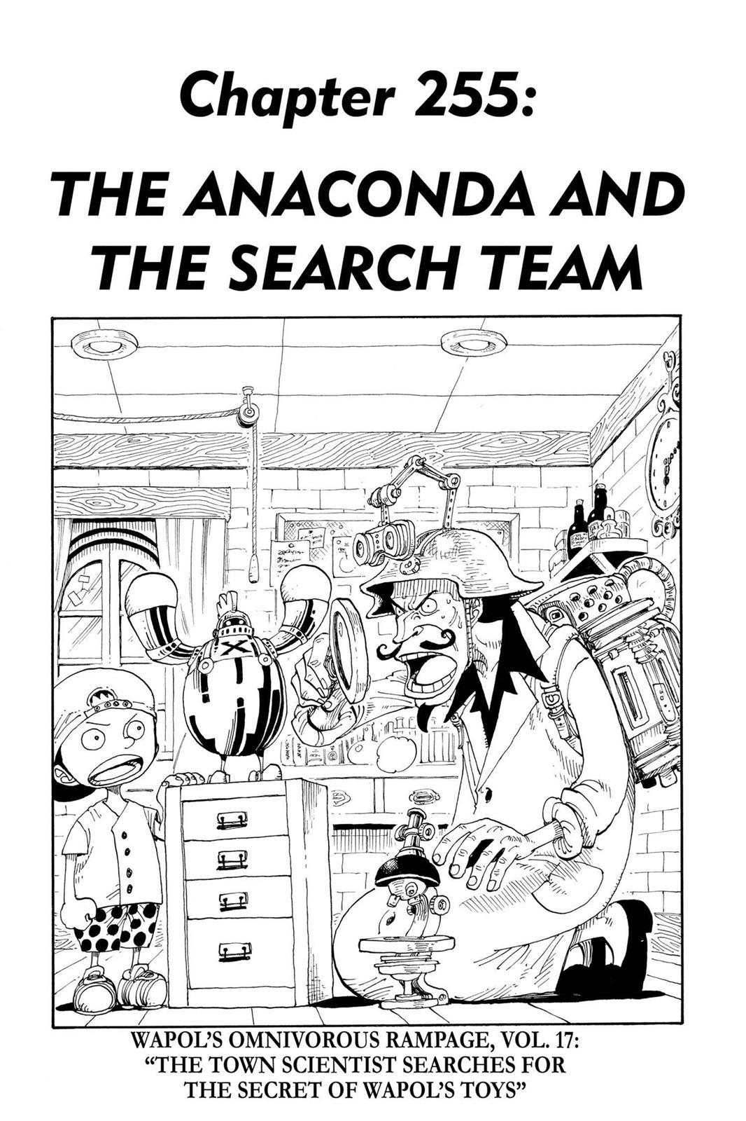 One Piece, Chapter 255 image 001