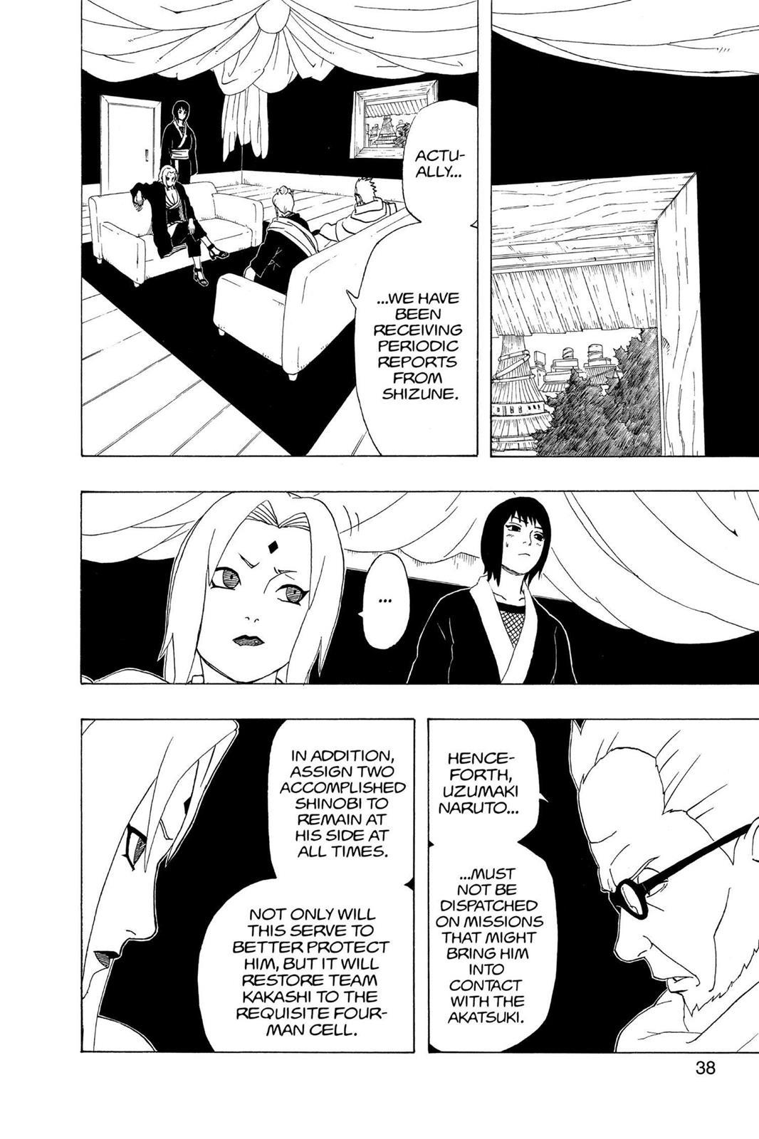 Naruto, Chapter 282 image 010