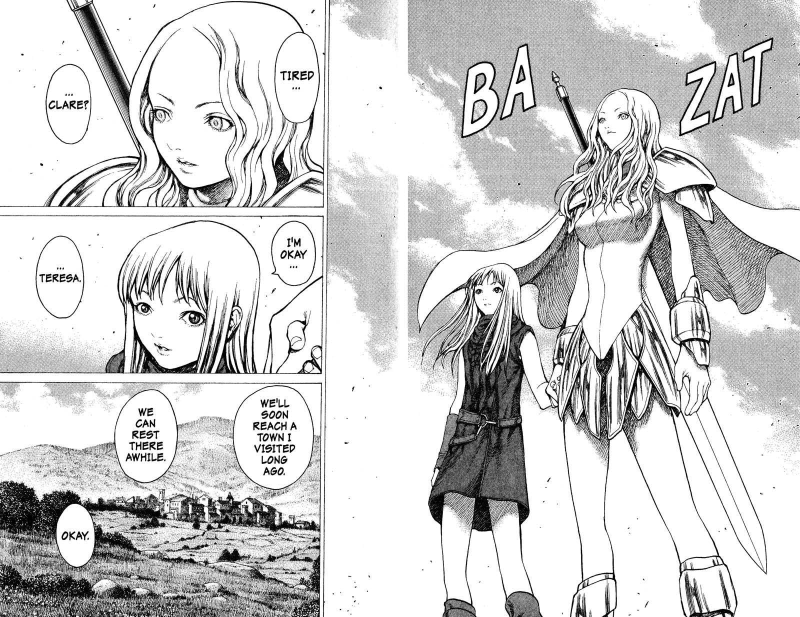 Claymore, Chapter 18 image 029