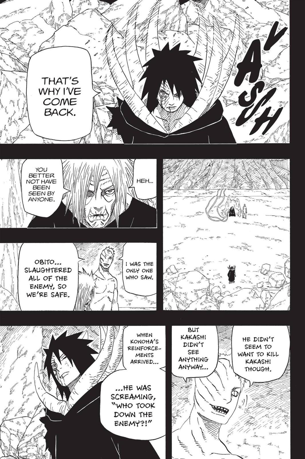 Naruto, Chapter 606 image 008
