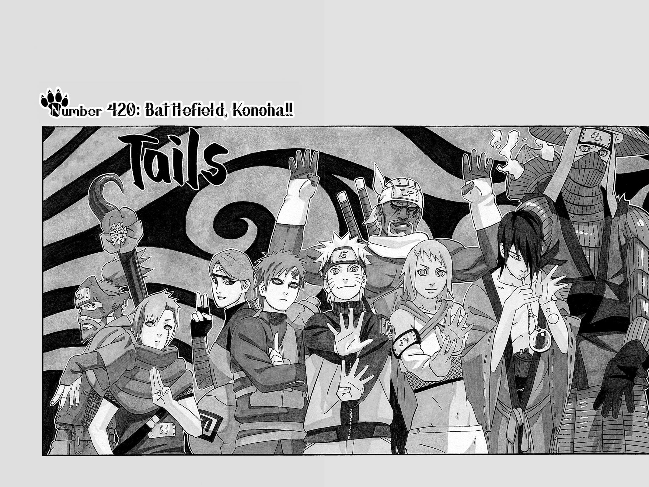 Naruto, Chapter 420 image 001