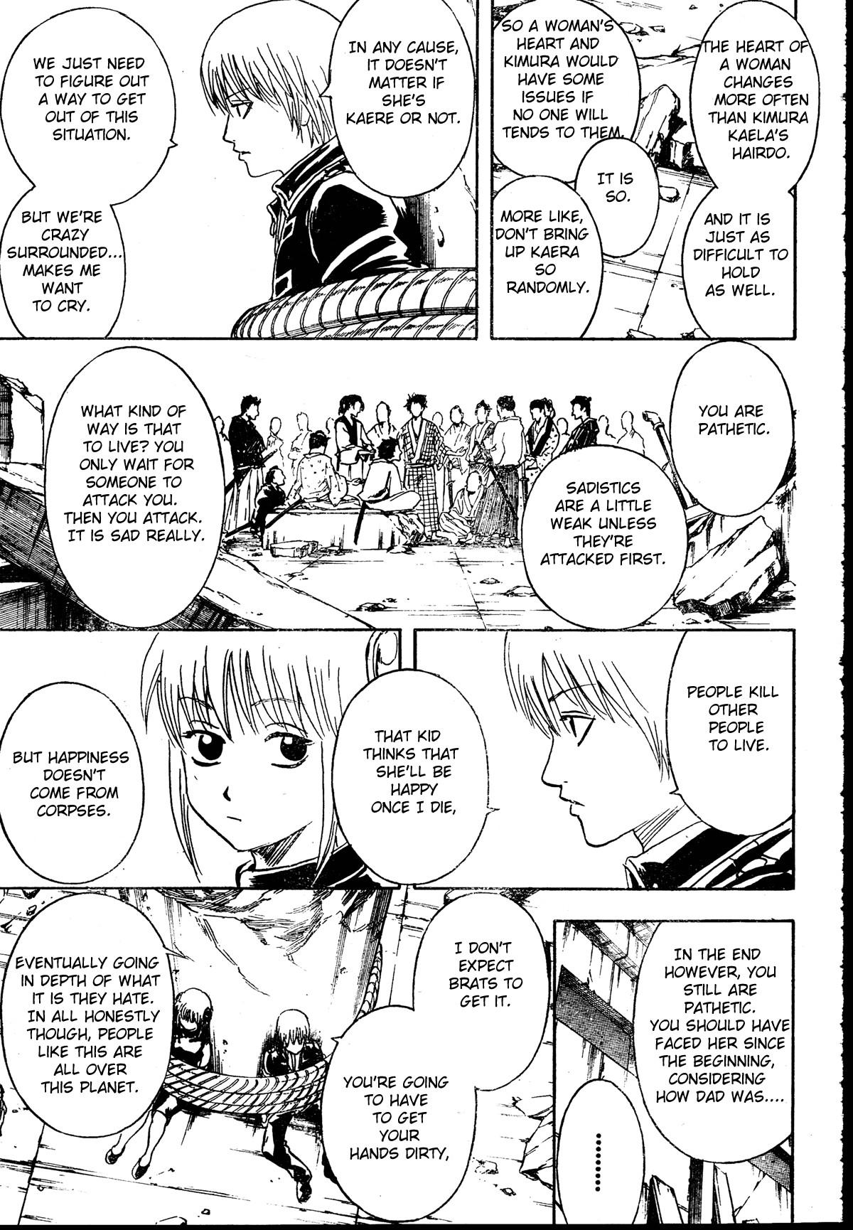 Gintama Chapter, 271 image 013