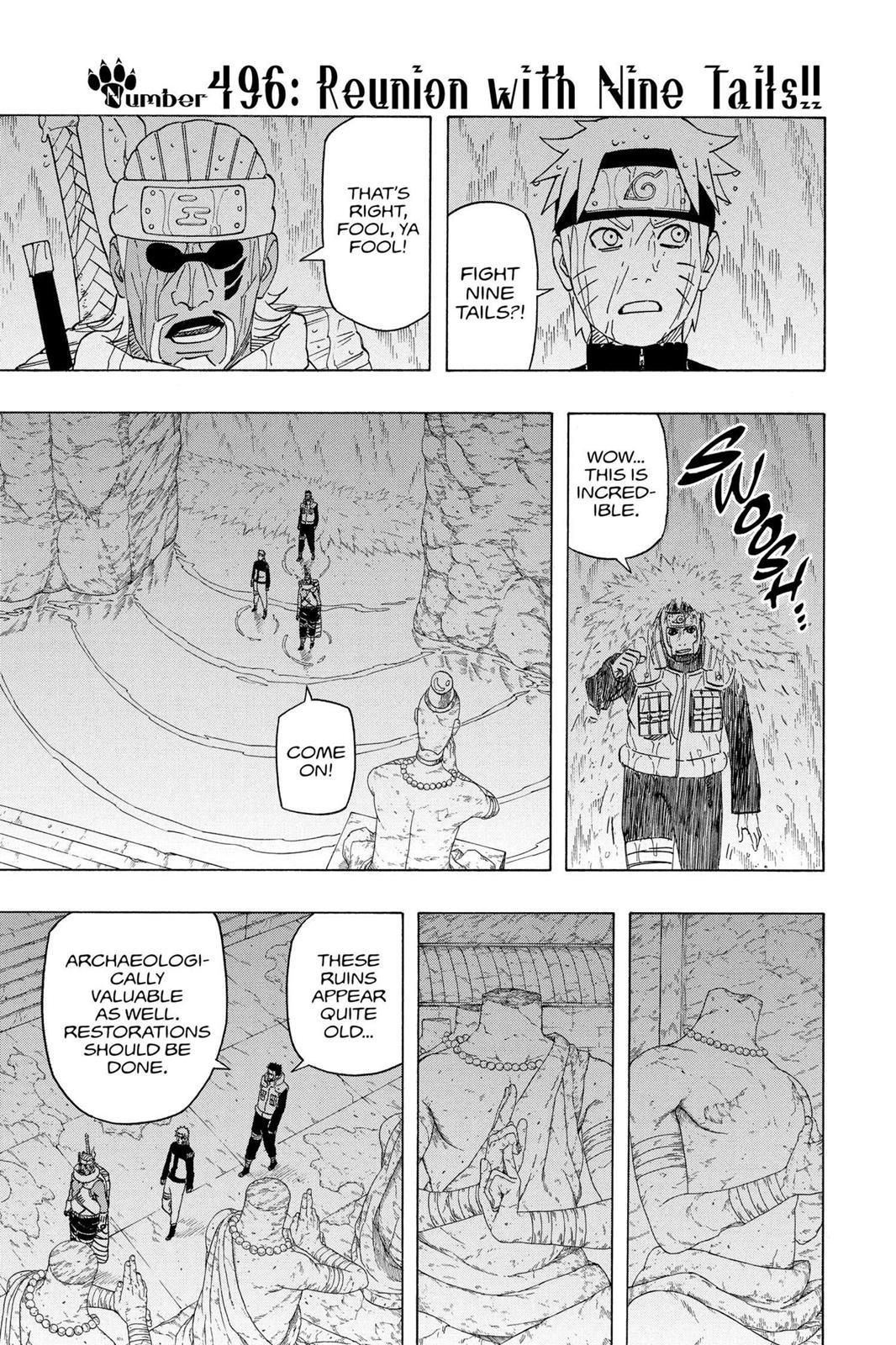 Naruto, Chapter 496 image 001