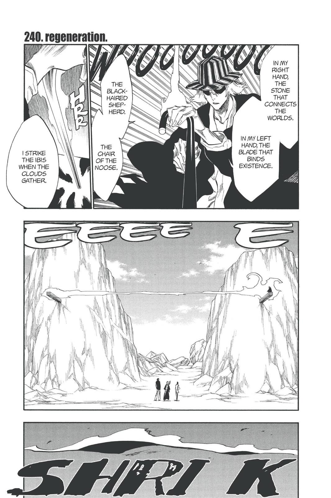 Bleach, Chapter 240 image 001