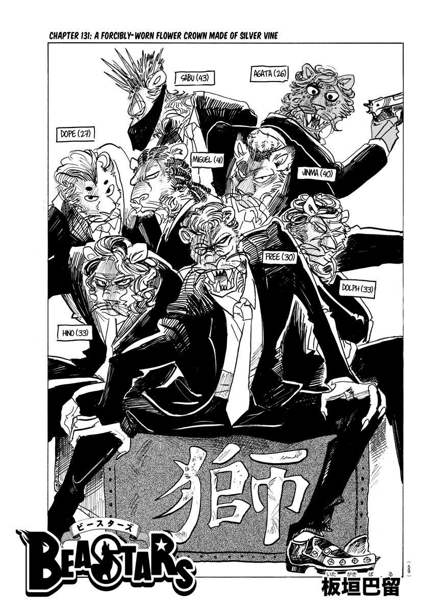 Beastars Manga, Chapter 131 image 001