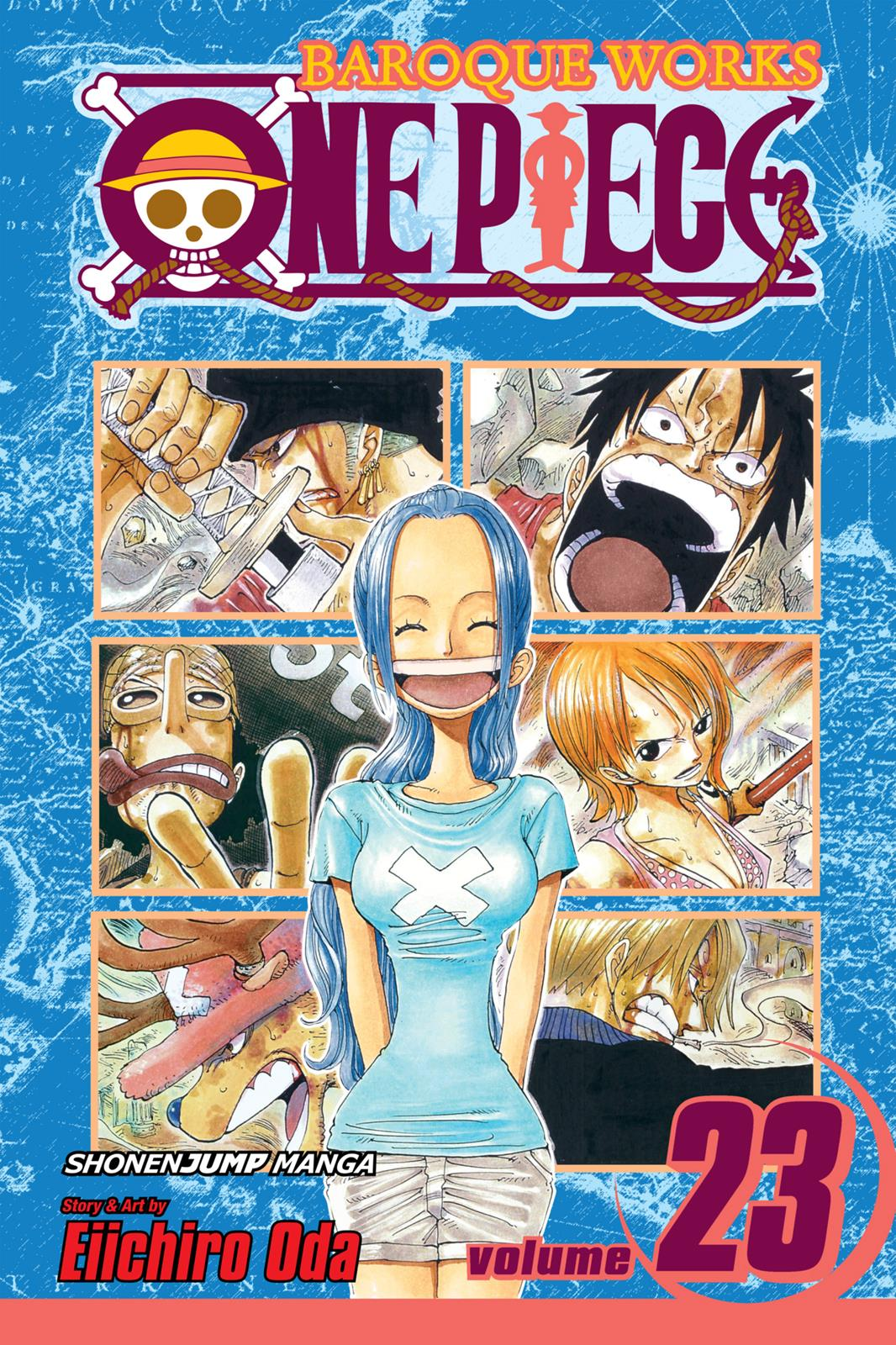 One Piece, Chapter 206 image 001