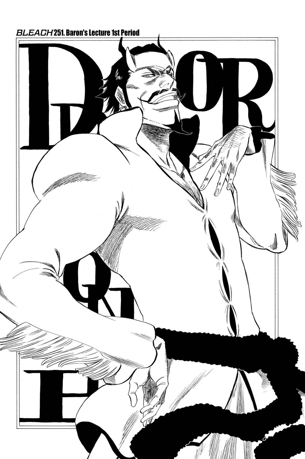 Bleach, Chapter 251 image 003