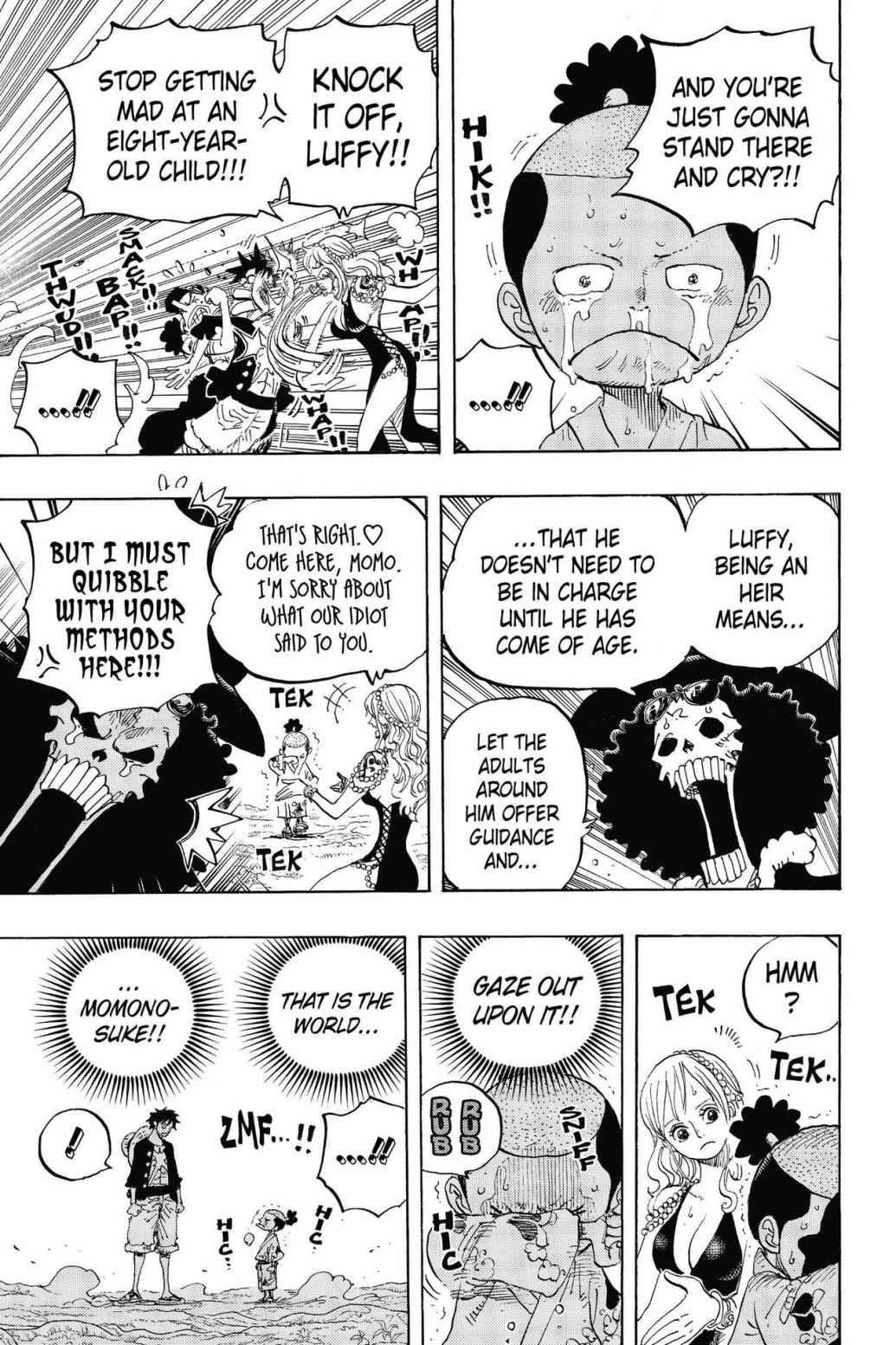 One Piece, Chapter 819 image 009