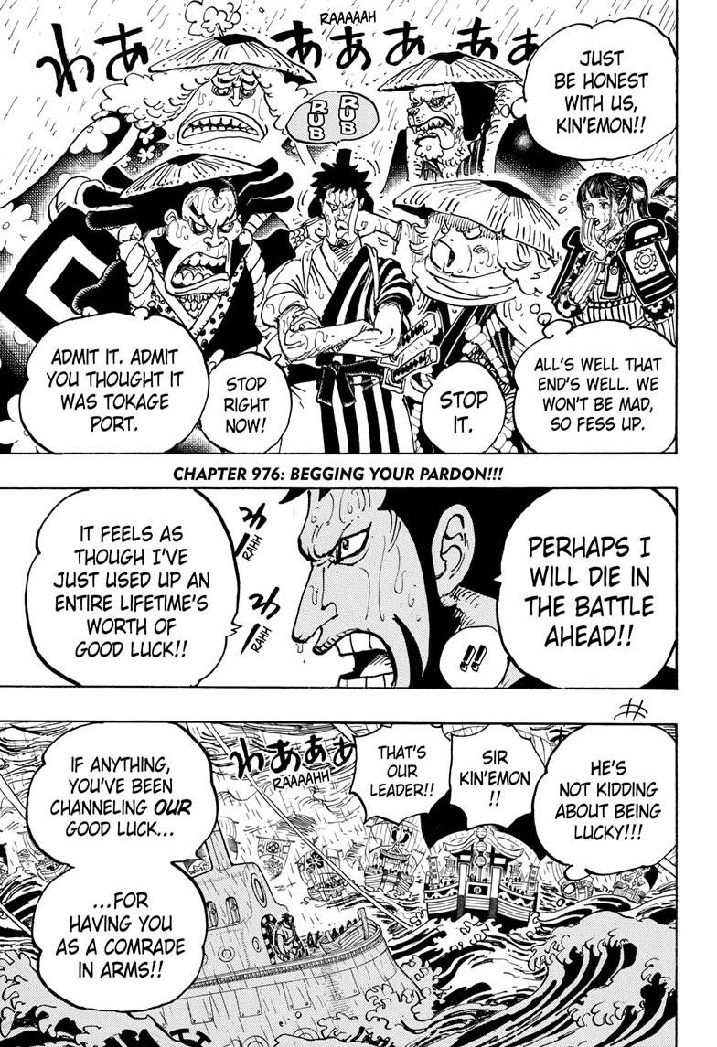 One Piece, Chapter 976 image 003
