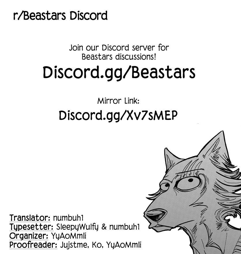 Beastars Manga, Chapter 168 image 020