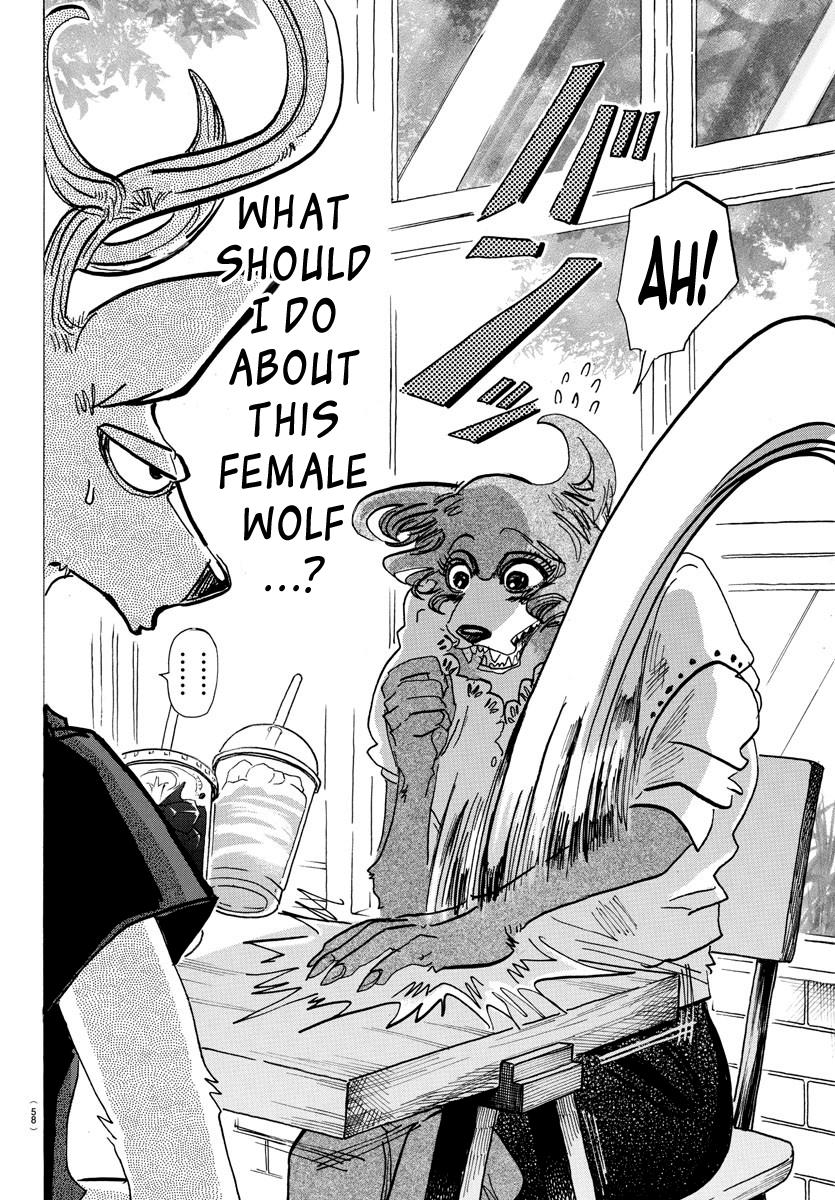 Beastars Manga, Chapter 136 image 003