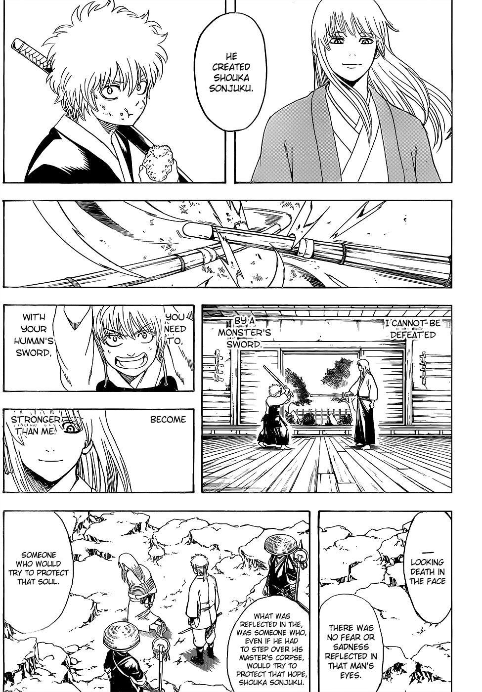 Gintama Chapter, 595 image 011
