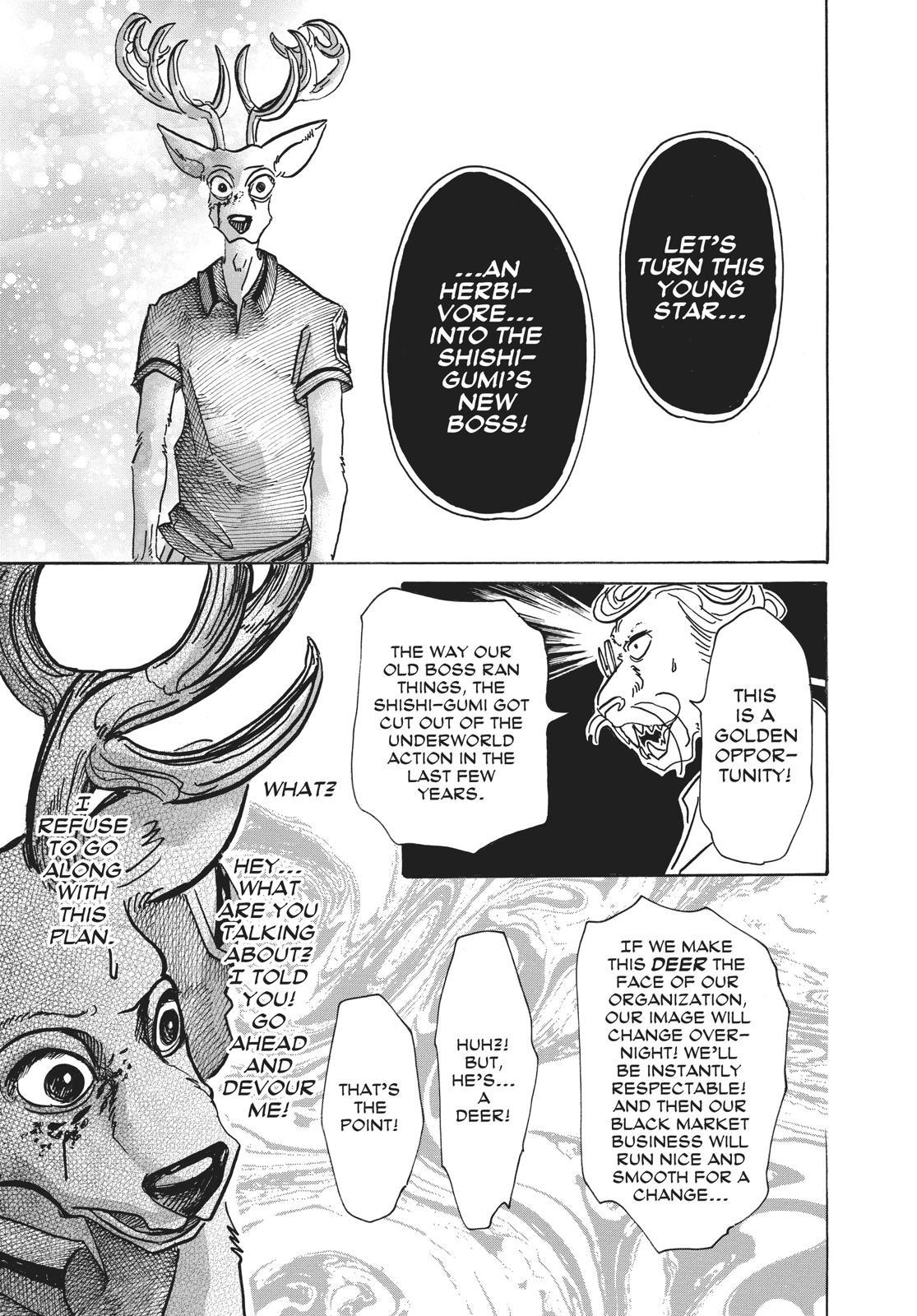 Beastars Manga, Chapter 51 image 007