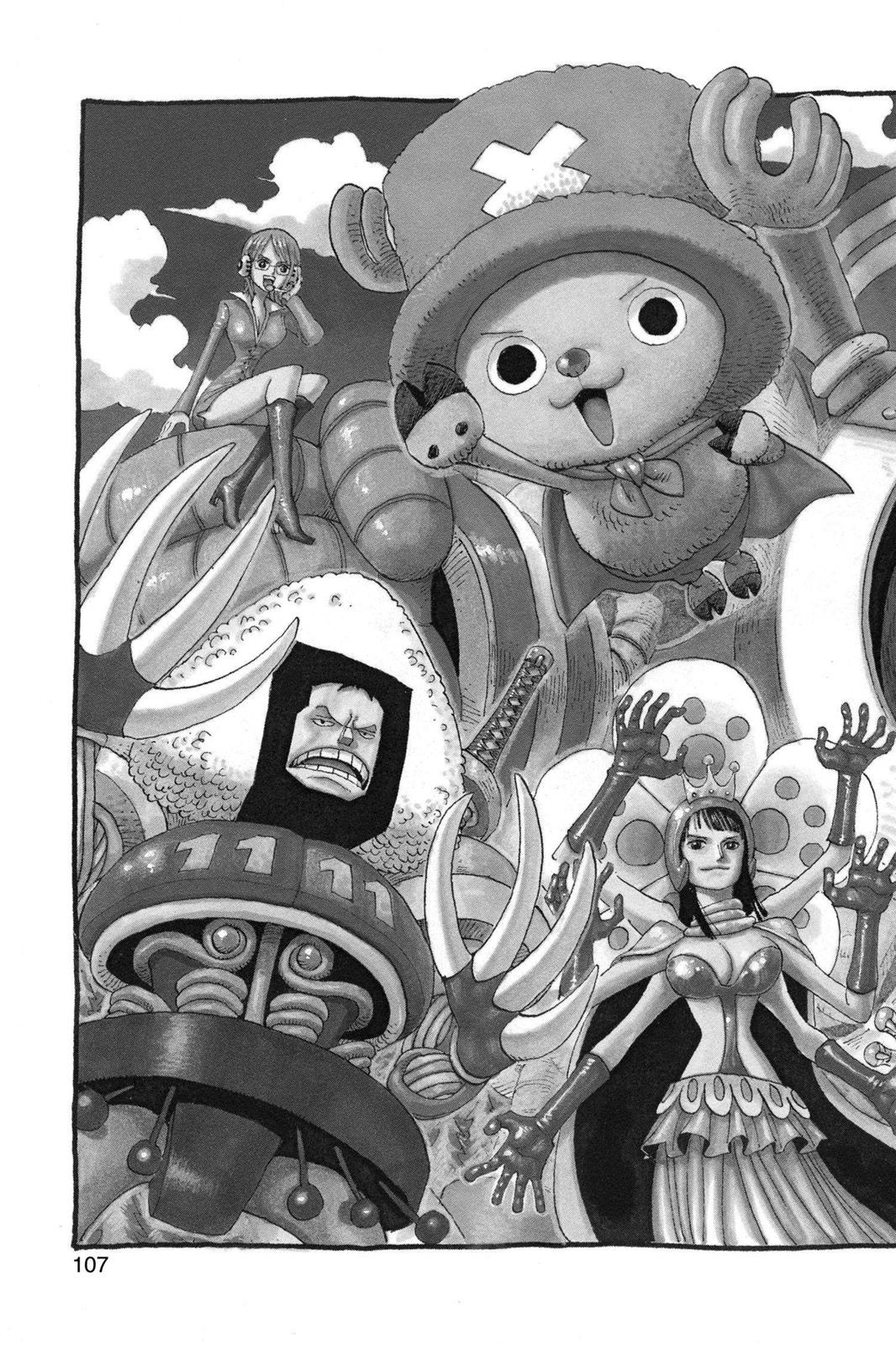 One Piece, Chapter 405 image 002