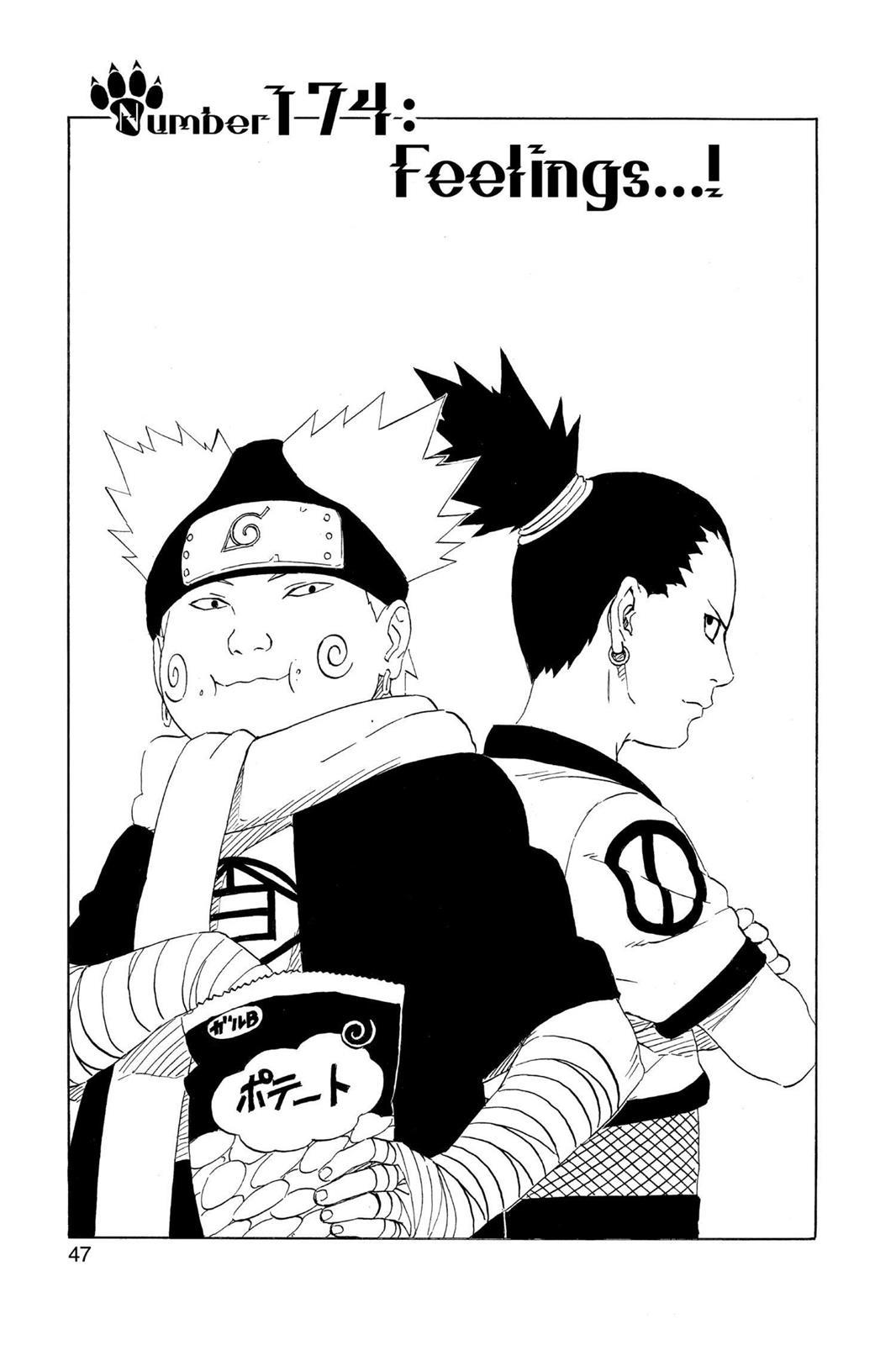 Naruto, Chapter 174 image 001