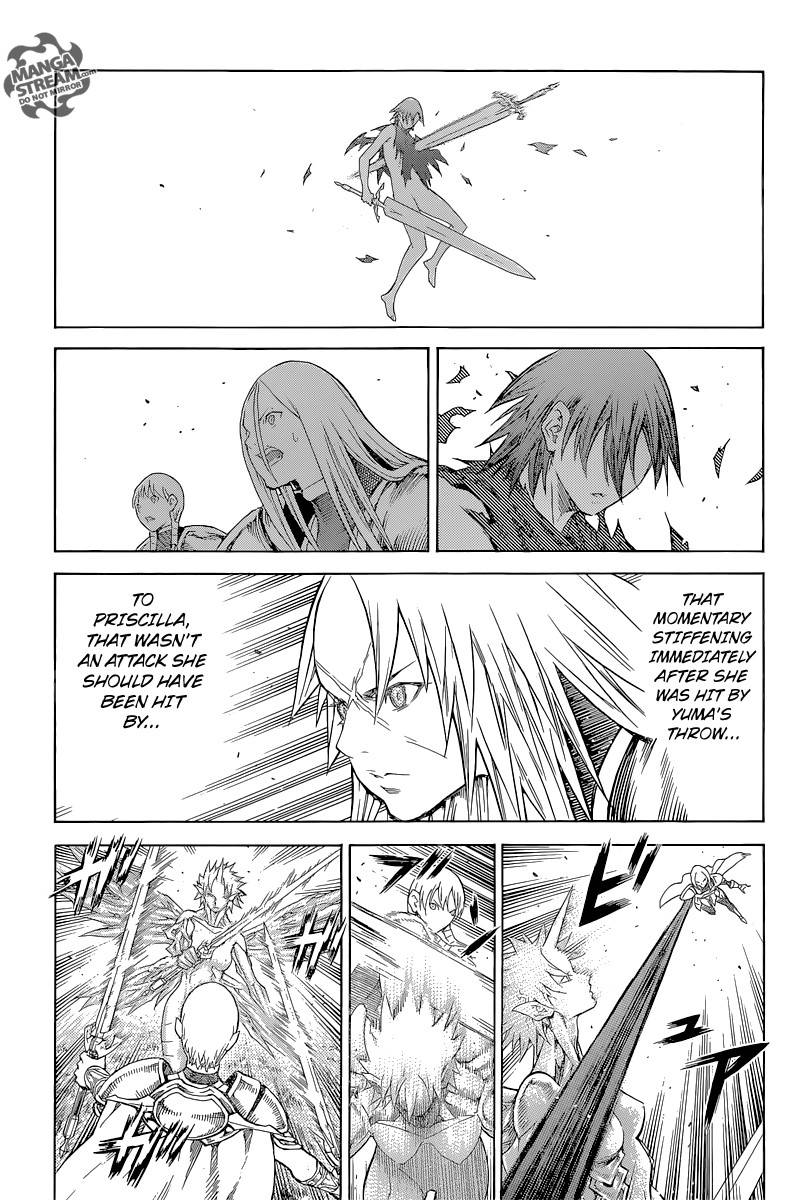 Claymore, Chapter 147 image 015