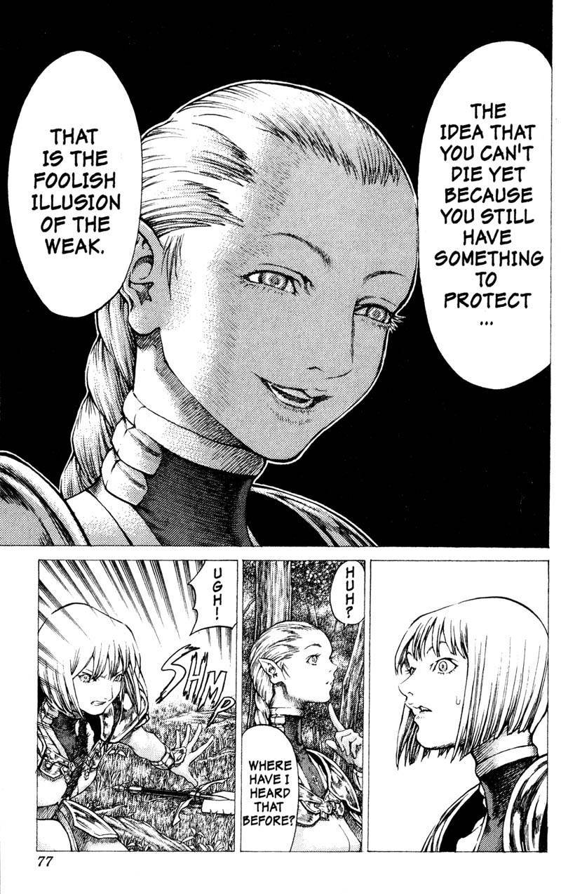 Claymore, Chapter 36 image 011