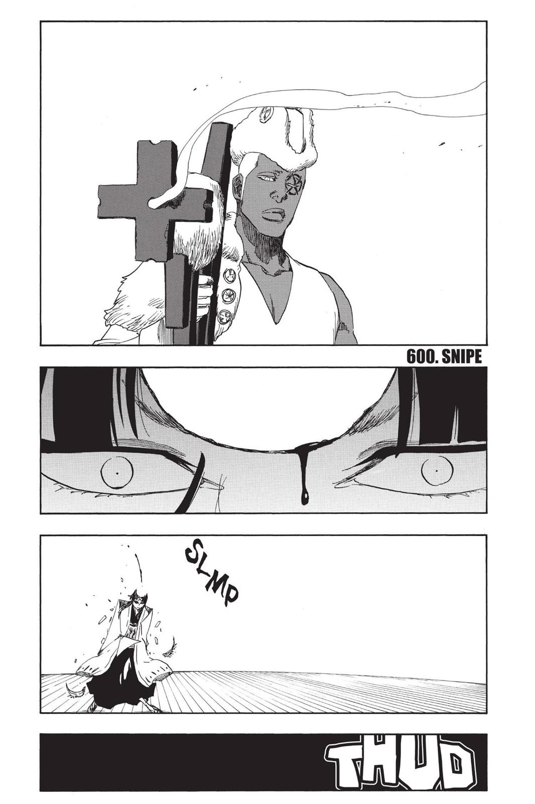 Bleach, Chapter 600 image 001