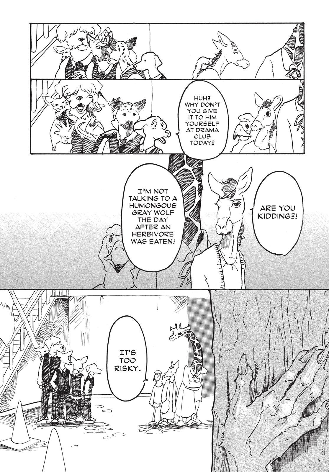 Beastars Manga, Chapter 1 image 019