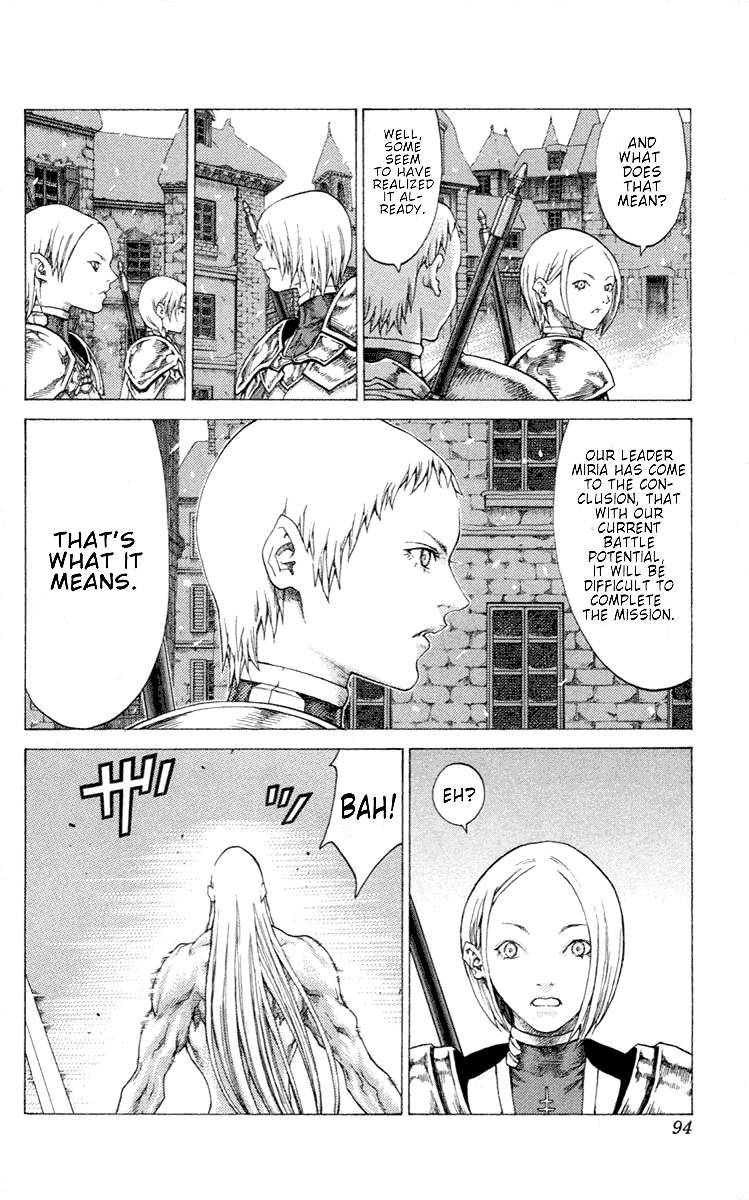 Claymore, Chapter 54 image 023