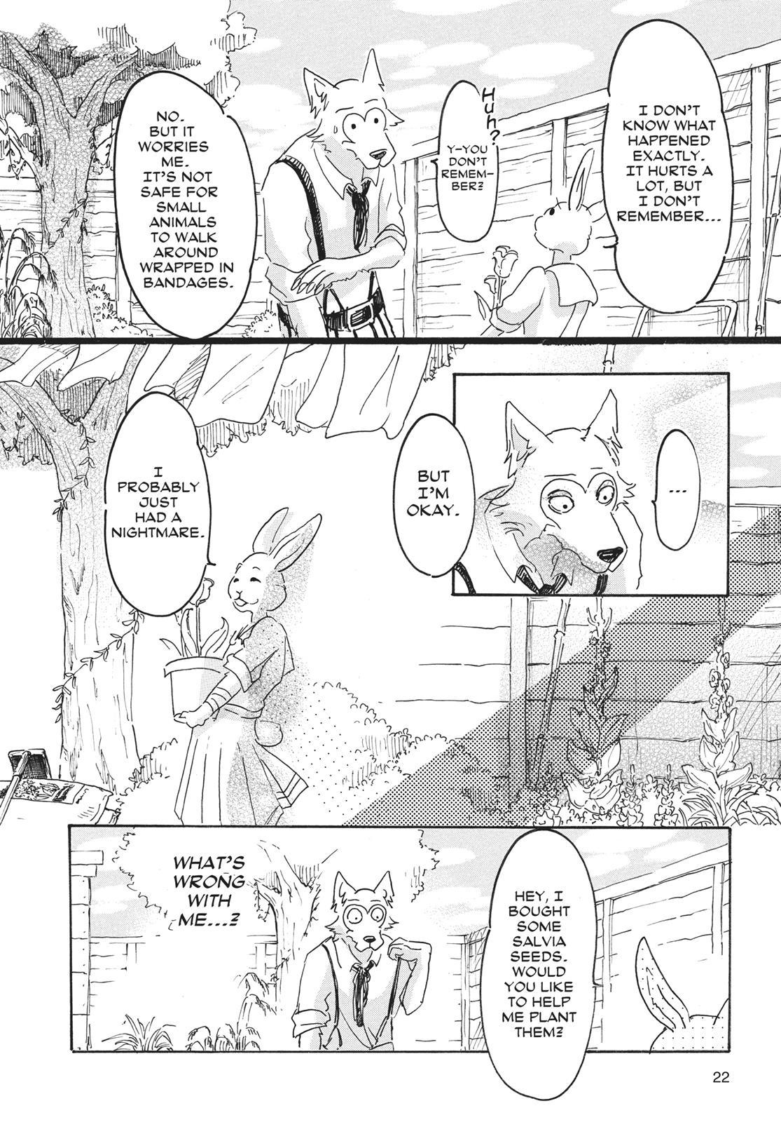 Beastars Manga, Chapter 8 image 022