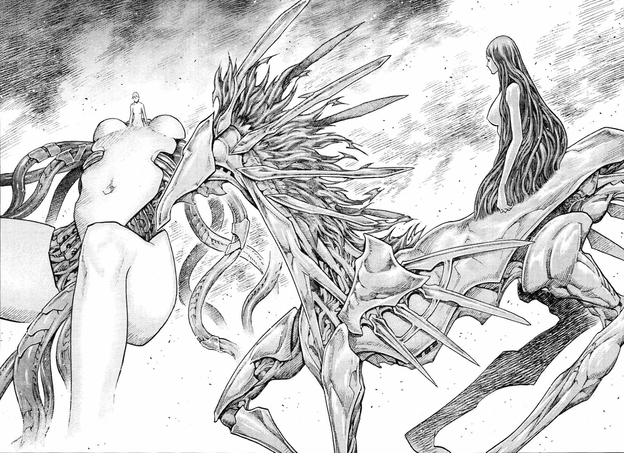 Claymore, Chapter 134 image 012