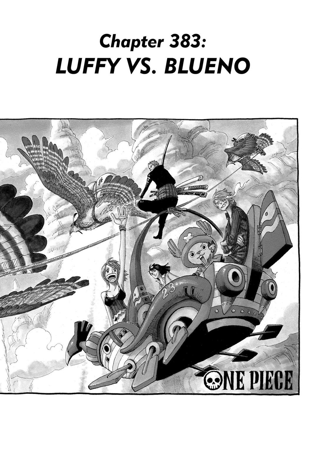 One Piece, Chapter 383 image 001