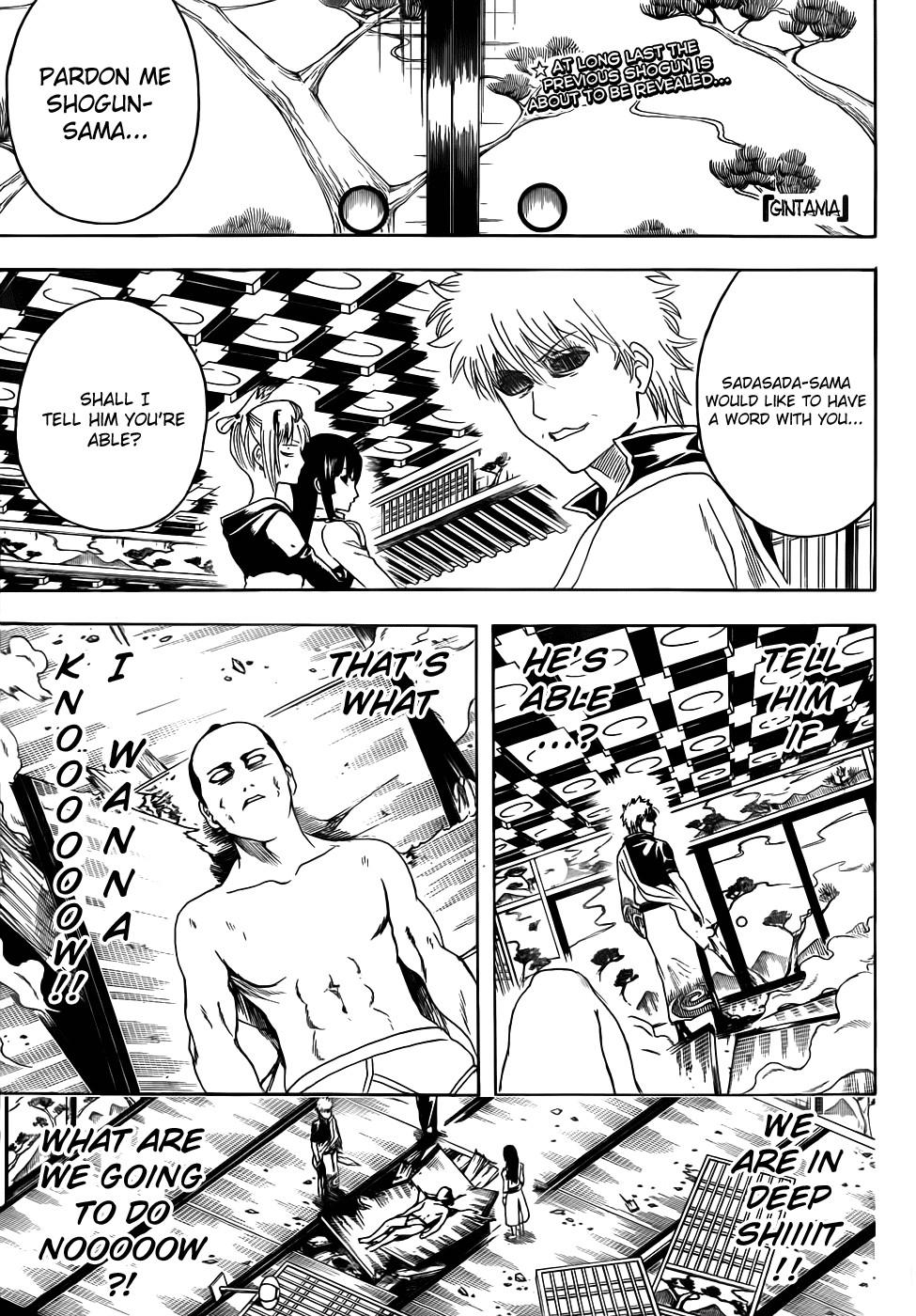 Gintama Chapter, 388 image 001