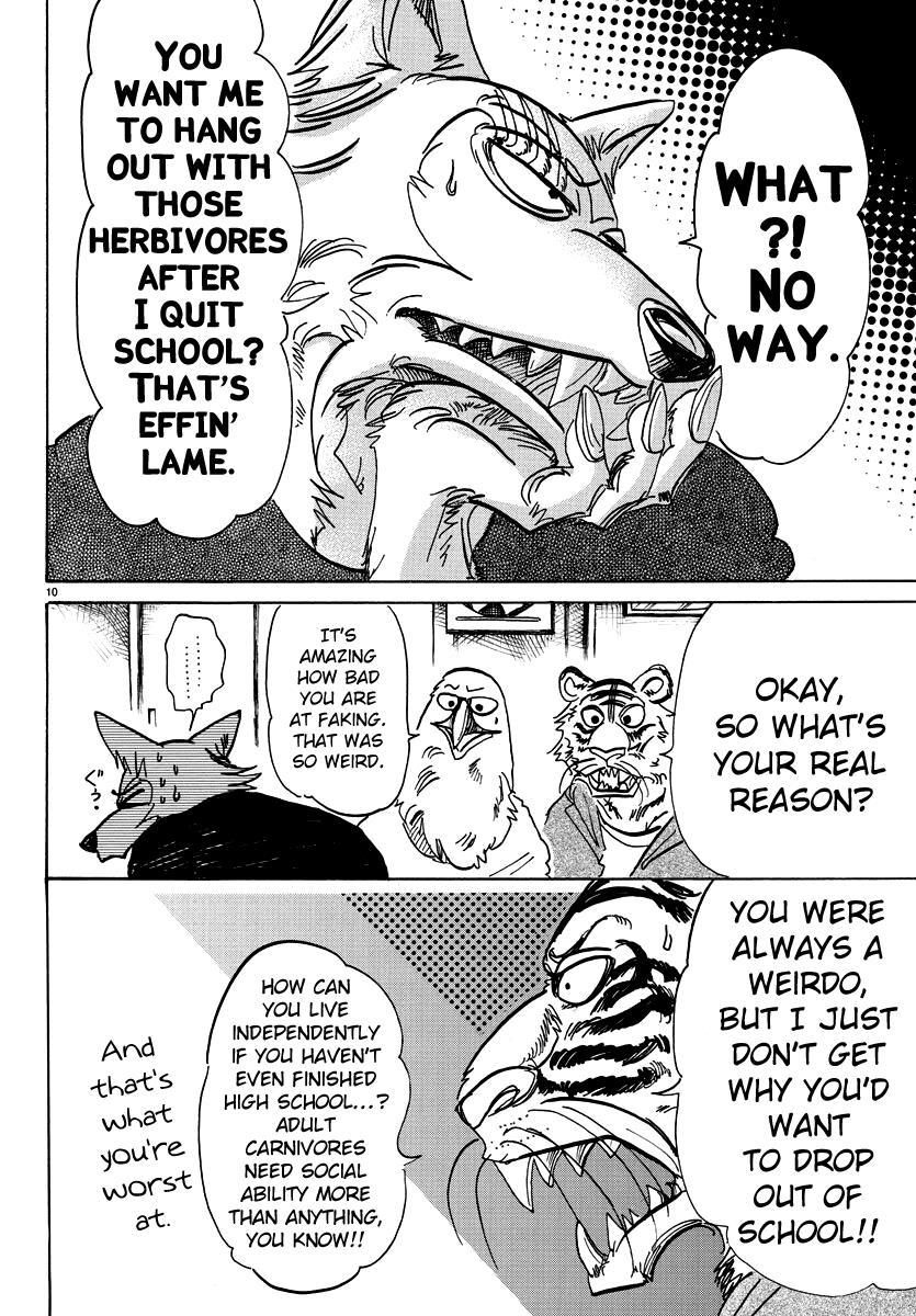 Beastars Manga, Chapter 101 image 010