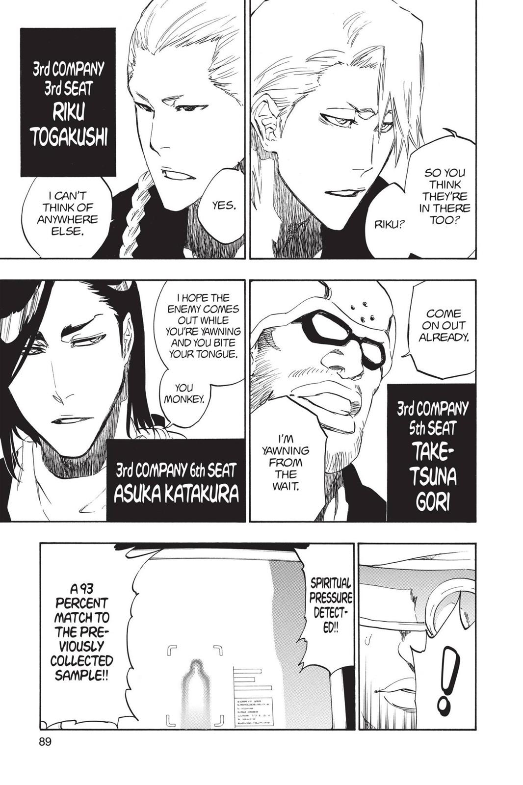 Bleach, Chapter 494 image 009